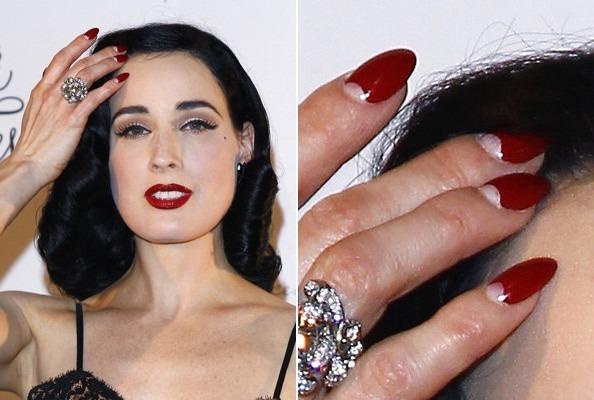 dita-von-teese-half-moon-manicure