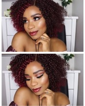 @glam_lucie - Yummy mummy of two, this lady slays with any hairstyle, check out her youtube too.