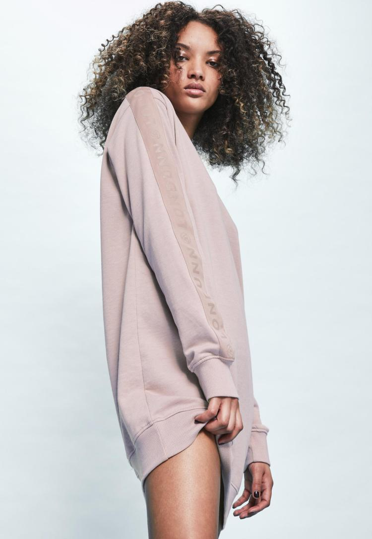 londunn--missguided-pink-oversized-logo-sleeve-sweater-dress