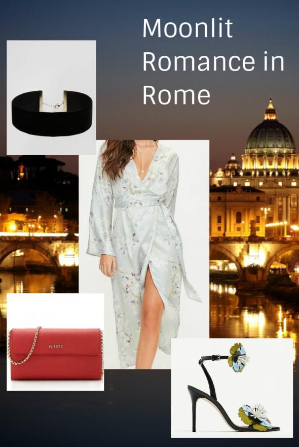 Moonlit Romance in Rome