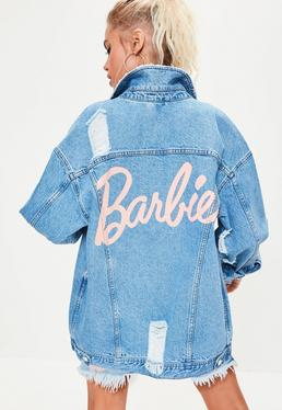 barbie-x-missguided-blue-long-sleeve-printed-back-denim-jacket