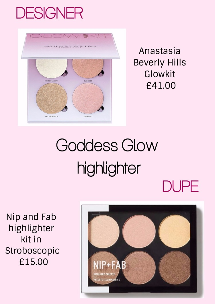 Goddess glow highlighter